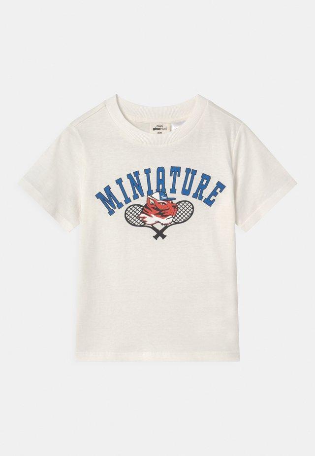 MINI  - T-shirt print - white