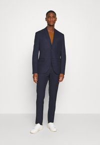 Isaac Dewhirst - CHECK SUIT - Traje - dark blue - 0