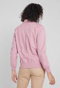 Cross Sportswear - BOMBER JACKET - Kurtka przeciwdeszczowa - old pink - 2