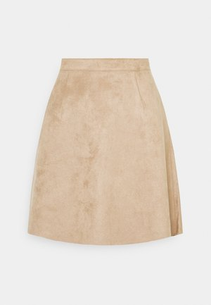 VIFADDYPEN SKATER SKIRT - A-Linien-Rock - brown