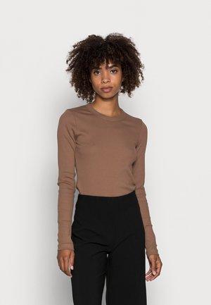 DAGNA - T-shirt à manches longues - camel