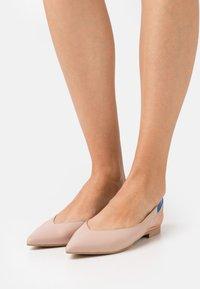 Chatelles - SLING BACK - Slingback ballet pumps - beige - 0