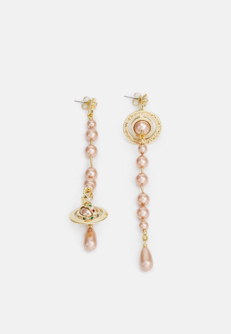 Vivienne Westwood - BROKEN EARRINGS - Earrings - rose gold-coloured