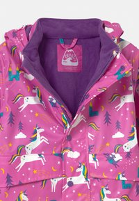 Frugi - PUDDLE BUSTER - Waterproof jacket - pink - 2