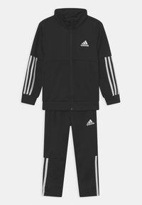 adidas Performance - TEAM TRACKSUITS - Verryttelypuku - black/white - 0