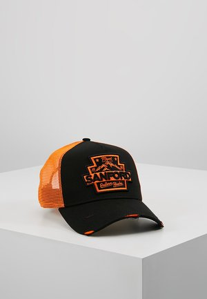 DISTRESSED TRUCKER PACK - Cap - black