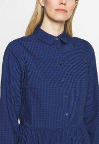 Marc O'Polo DENIM - DRESS BUTTON PLACKET - Shirt dress - scandinavian blue - 5