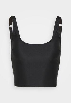 ECO ALEX LONGLINE - Bikini top - black