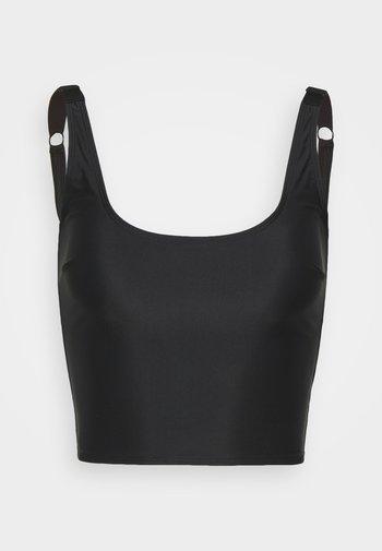 ECO ALEX LONGLINE - Bikinitop - black