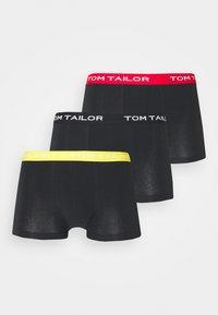 3 PACK - Pants - black/dark/multicolor