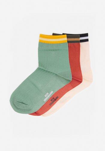 MIX SOCK 3 PACK - Socks - burnt/malachite/dusty
