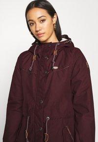 Ragwear - CANNY - Winter coat - wine red - 3