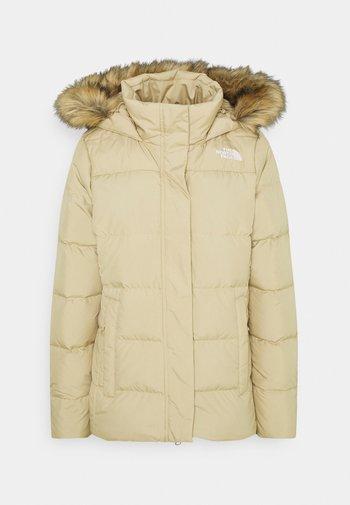 GOTHAM JACKET - Down jacket - hawthorne khaki