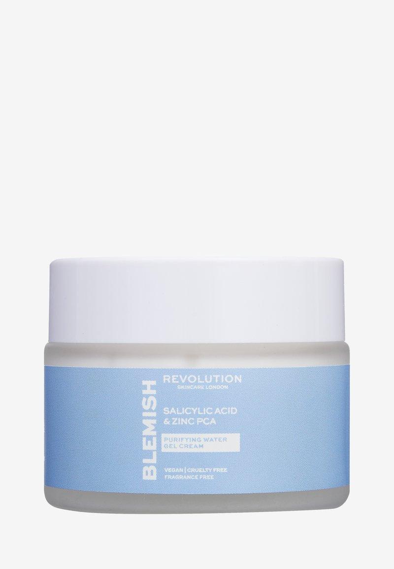 Revolution Skincare - REVOLUTION SKINCARE SALICYLIC ACID & ZINC PCA PURIFYING WATER GEL CREAM - Dagcrème - -