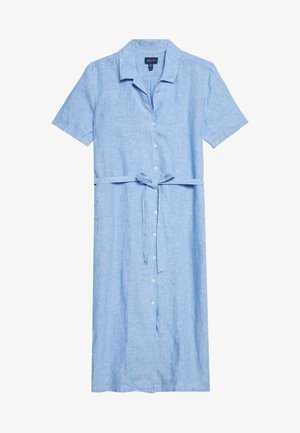 CHAMBRAY SHIRT DRESS - Shirt dress - pacific blue