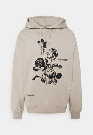 HOODIE UNLOVEABLE UNISEX - Sweater - sand