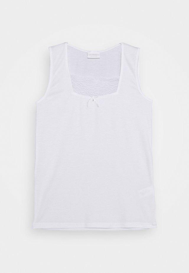 VALENCIENNE - Unterhemd/-shirt - bianco