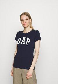 GAP - FRANCHISE TEE 2 PACK - T-shirt print - mojave - 4