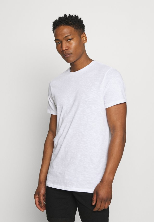 ONSKARLAN LIFE FISHTALE TEE - Basic T-shirt - bright white