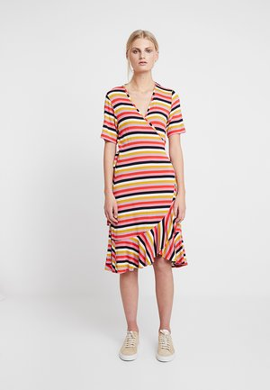 LAVANDA - Žerzejové šaty - multicolor