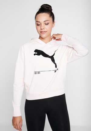 NU TILITY HOODY - Jersey con capucha - rosewater