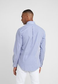 Polo Ralph Lauren - NATURAL SLIM FIT - Hemd - blue/white bengal - 2