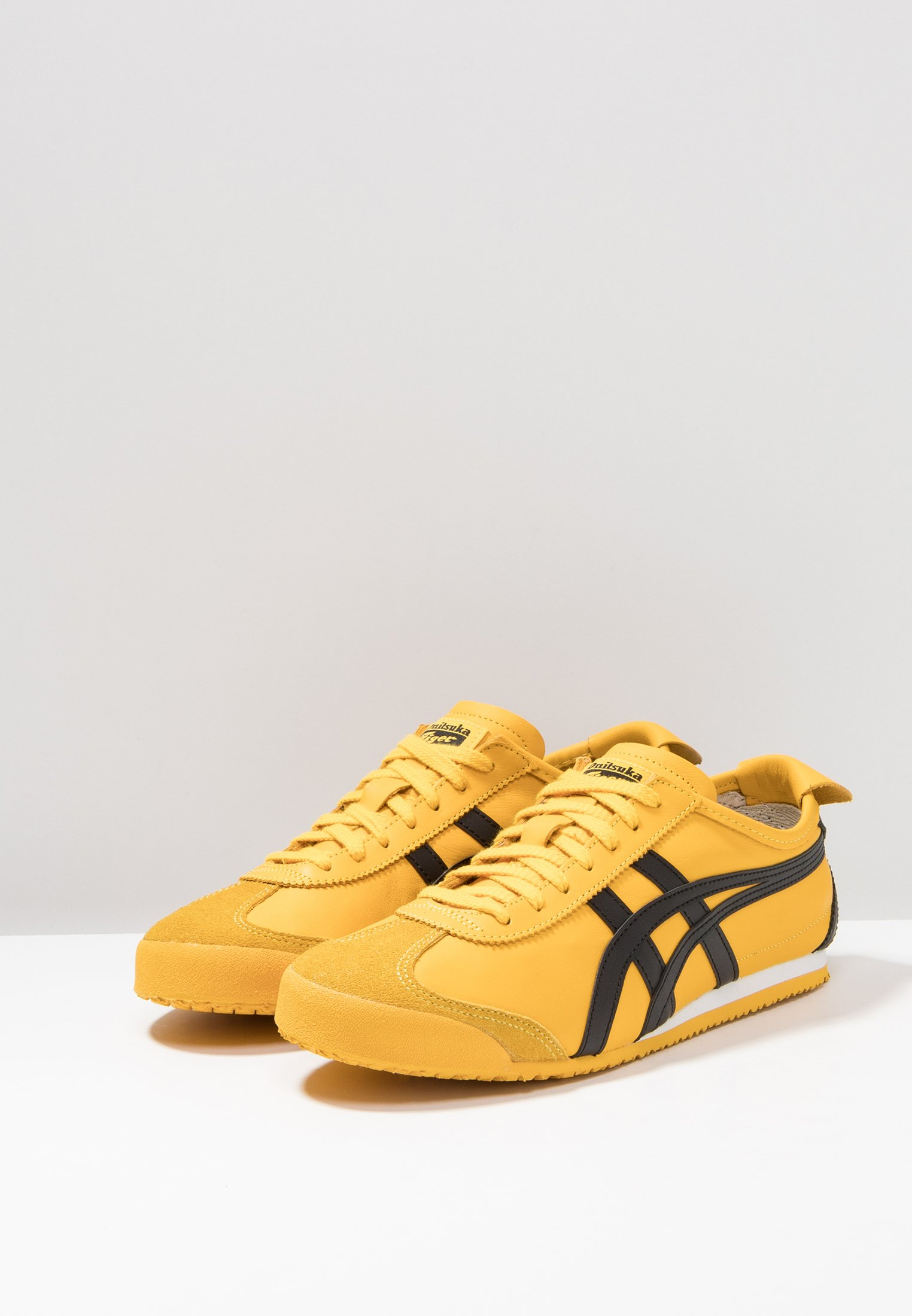 Onitsuka Tiger MEXICO 66 - Sneaker low - yellow/black/gelb - Herrenschuhe fWRSY