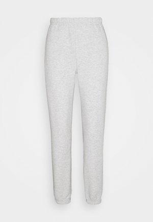 BASIC  - Pantalones deportivos - grey melange