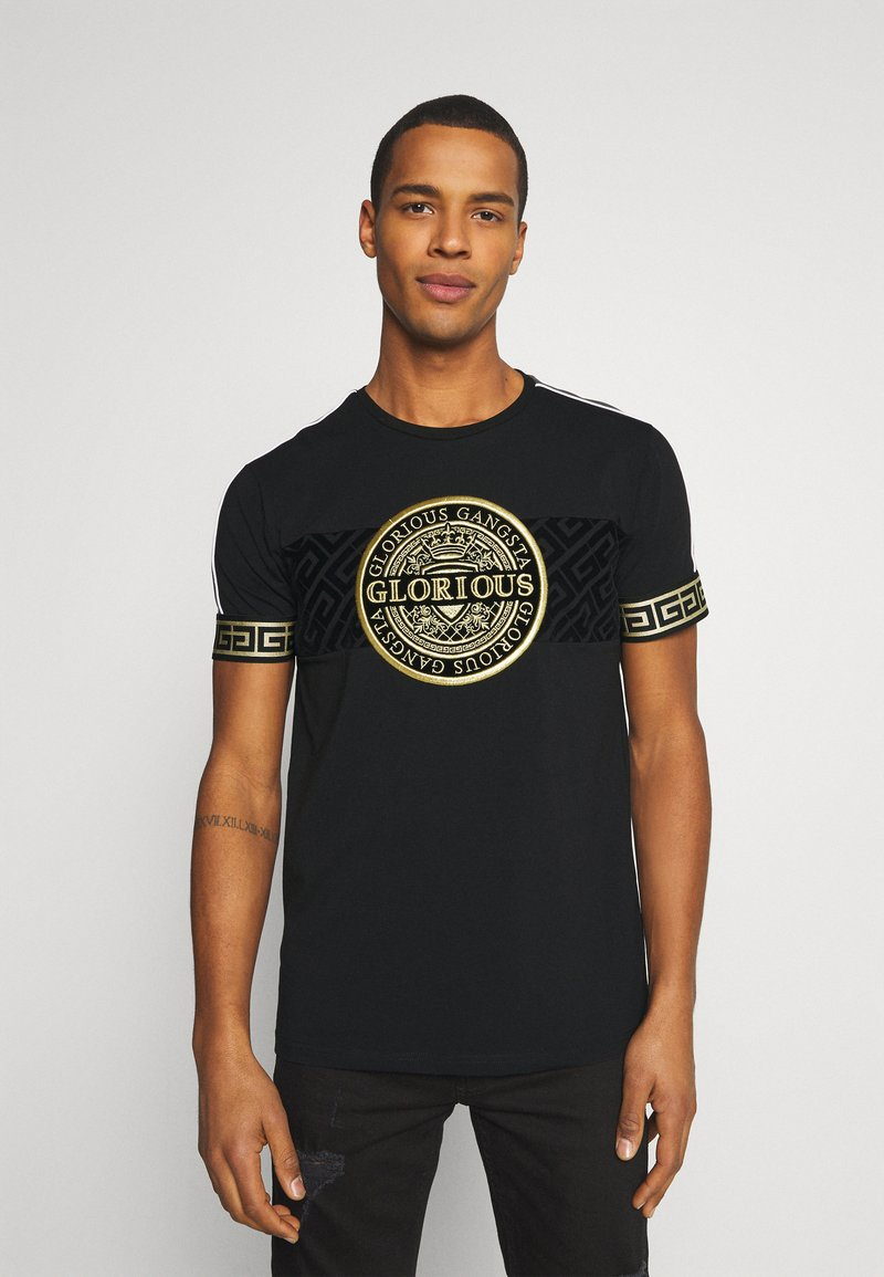 Glorious Gangsta - BOTTAGOT - T-shirt con stampa - black