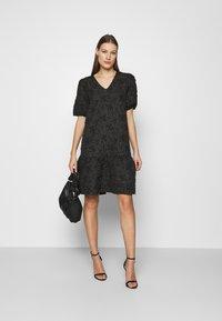 Saint Tropez - CHRISHELL DRESS - Cocktail dress / Party dress - black - 1