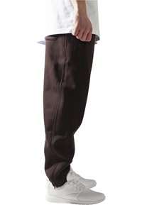 Urban Classics - SWEATPANTS SP. - Tracksuit bottoms - brown - 3