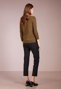 J.CREW - CAMERON  - Trousers - black - 2