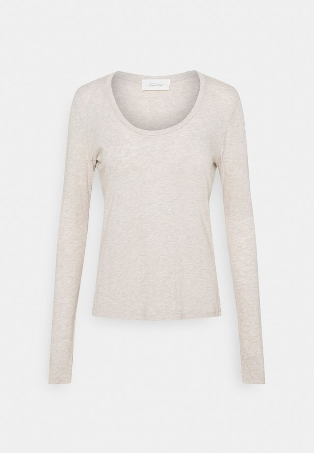 JACKSONVILLE ROUND NECK LONG SLEEVE - T-shirt à manches longues - creme chine