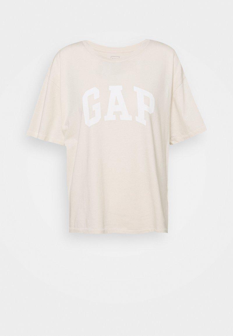 GAP - EASY TEE - Print T-shirt - ecru