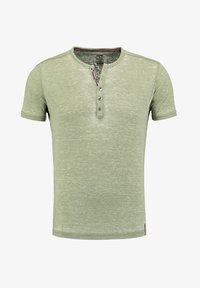 Key Largo - MT DIETER - Print T-shirt - green - 2