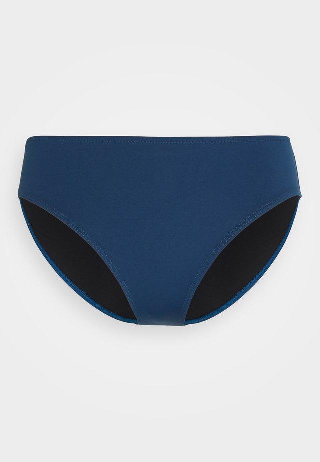 Bikinibroekje - solids petrol