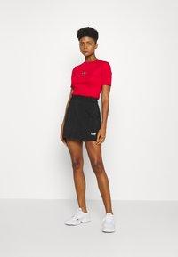 adidas Originals - SKIRT - Mini skirt - black - 1