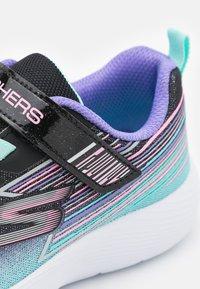 Skechers - DYNA LITE - Trainers - black sparkle/multicolor - 5