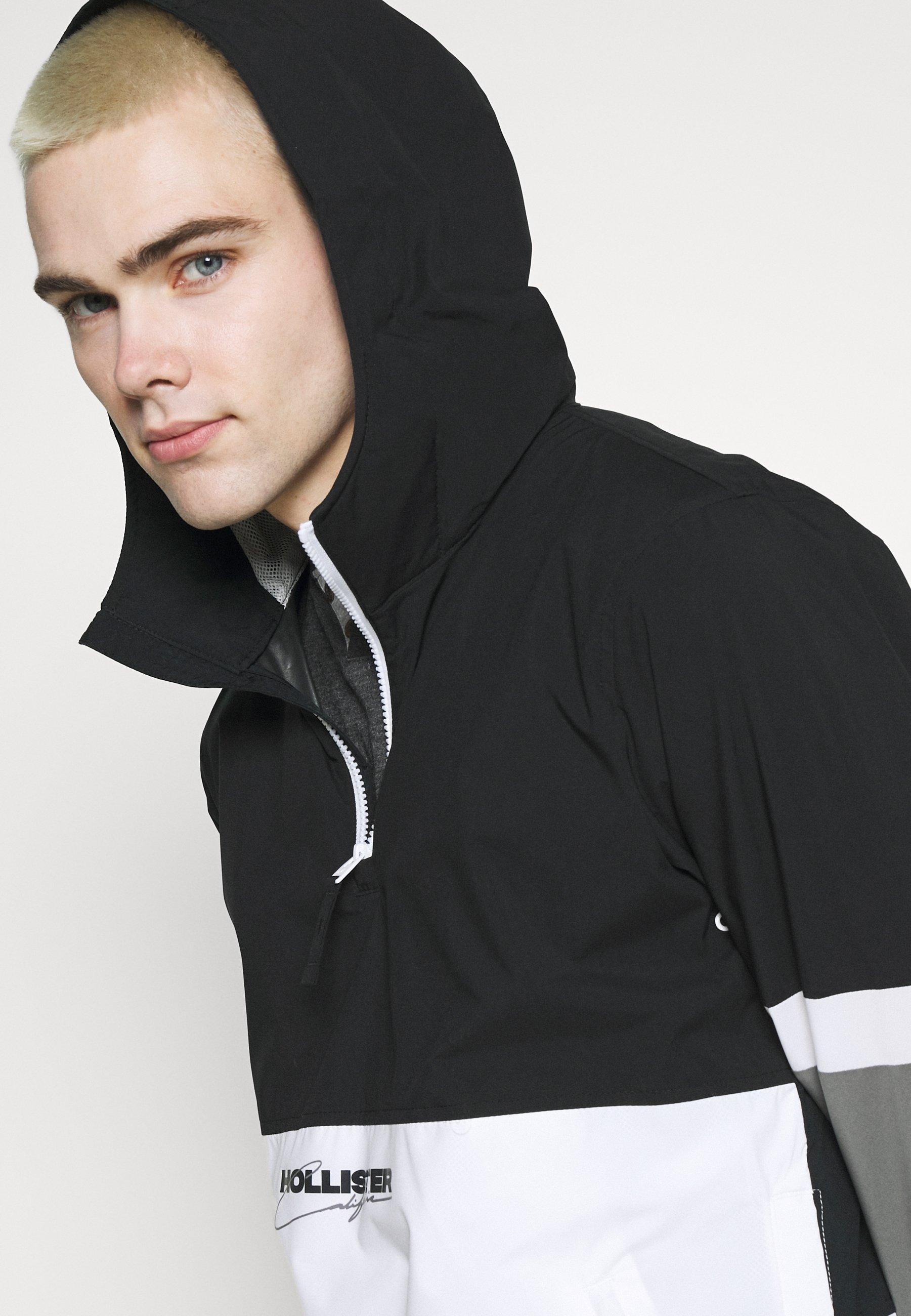 Men Summer jacket - black/white/grey