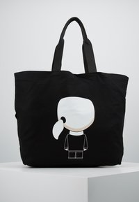 KARL LAGERFELD - Bolso shopping - black - 2