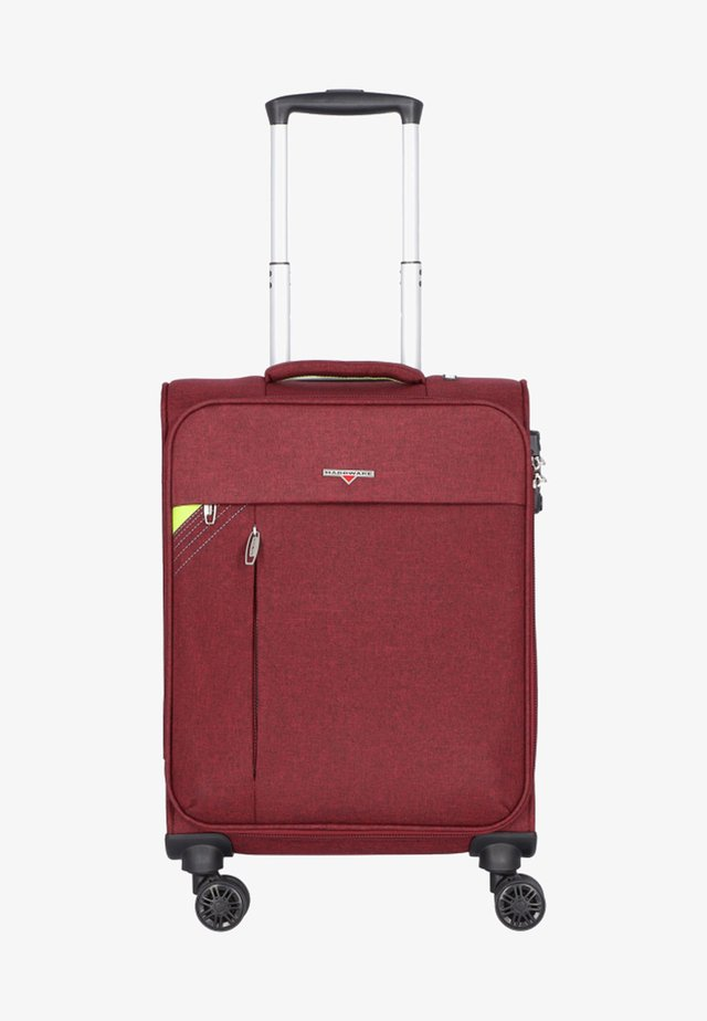 REVOLUTION - Wheeled suitcase - bordeaux