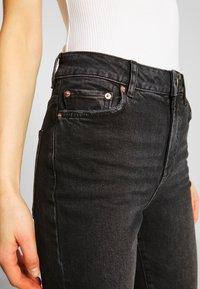 Pieces - PCNIMA - Jeans straight leg - black denim - 5