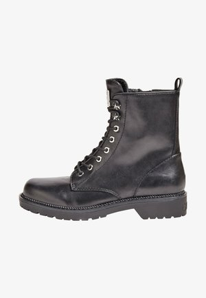 Lace-up boots - schwarz