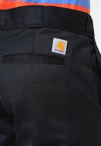 Carhartt WIP - MASTER PANT DENISON - Spodnie materiałowe - black rinsed - 4