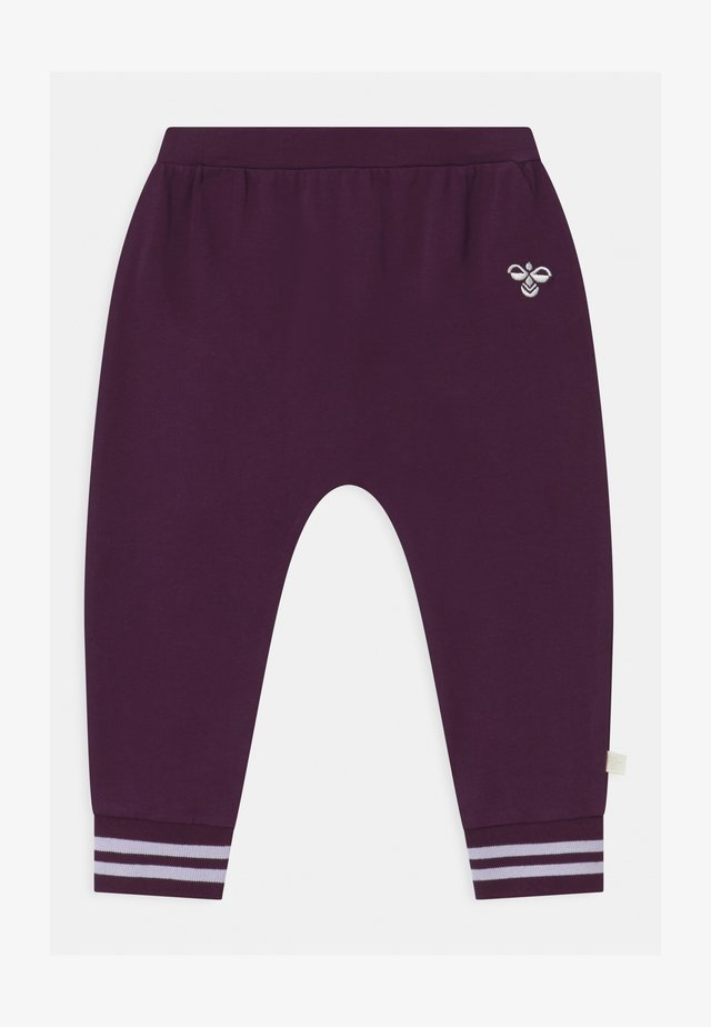 PETRA UNISEX - Broek - blackberry wine