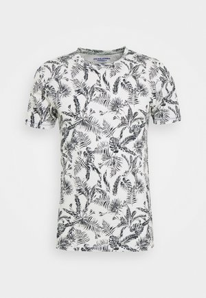 JORELRON ORGANIC - Print T-shirt - cloud dancer