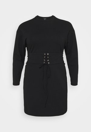 CORSET DRESS - Day dress - black