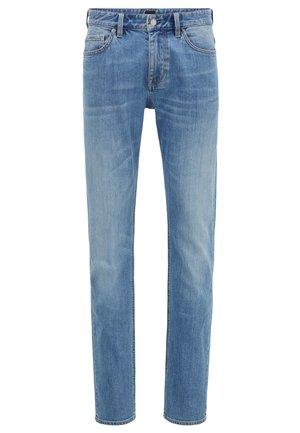 Trousers - light-blue denim