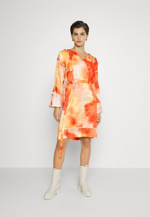 SCYLLA DRESS - Jurk - orange