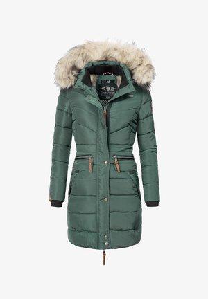 PAULA - Abrigo de invierno - green